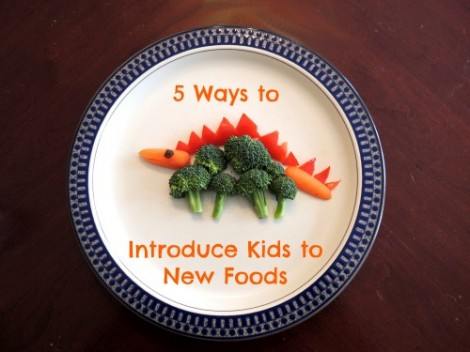 Introduce Kids to New Foods