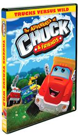 The Adventures of Chuck & Friends: Trucks Versus Wild on DVD