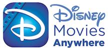Disney Movies Anywhere app logo
