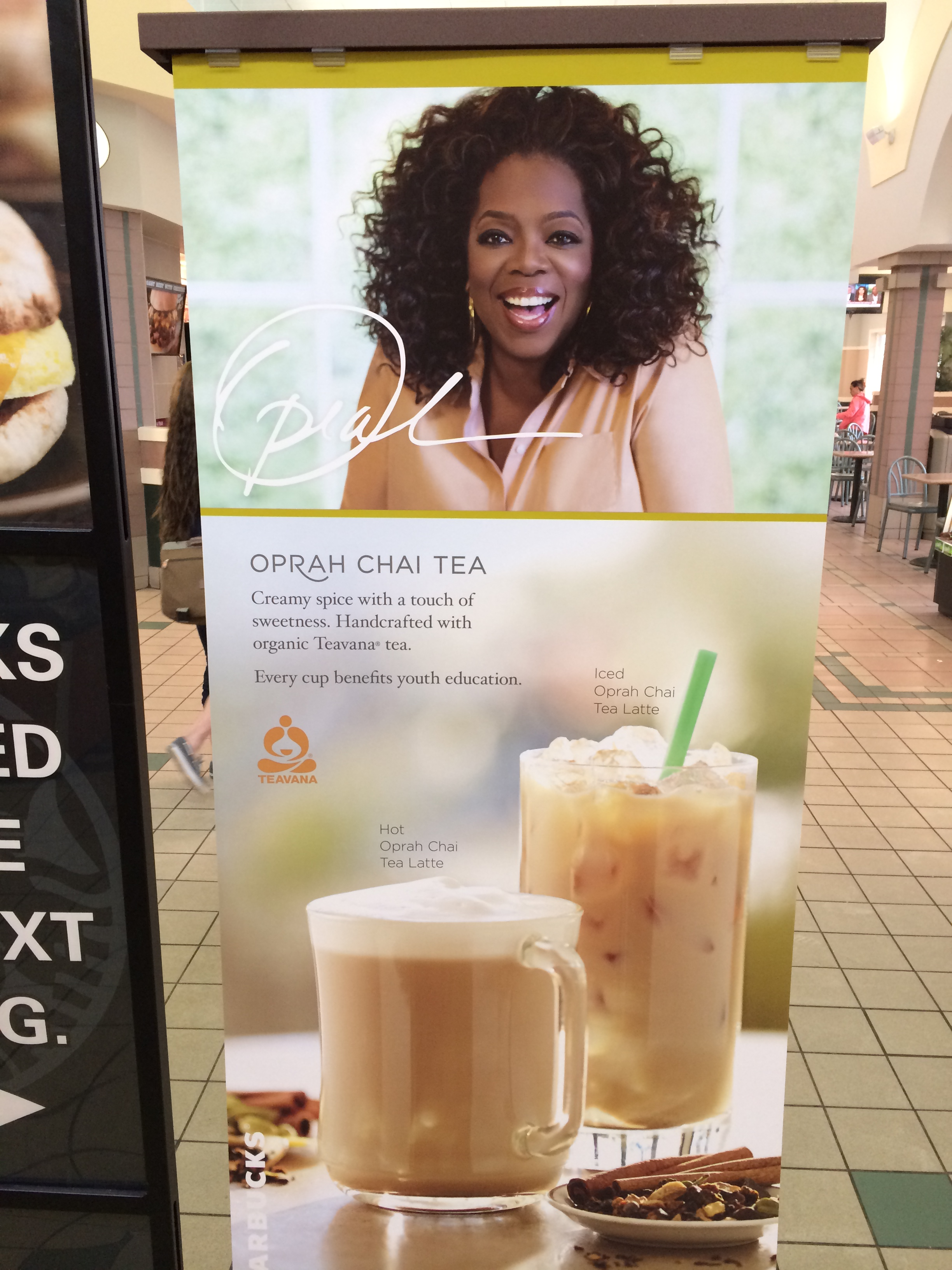 Teavana Oprah Chai Tea Now at Starbucks!