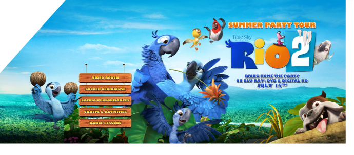 Rio 2 party truck