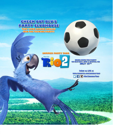 Rio 2 Mobile Summer Party Tour Coming to Philly July 1st!