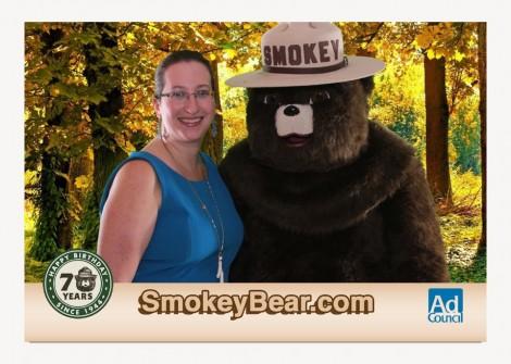 Smokey Bear PhotoShoot