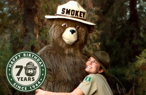 smokey bear 70th
