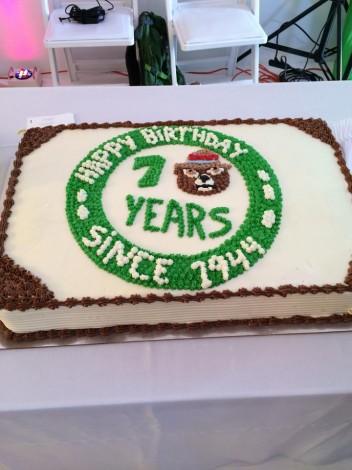 smokey bear cake