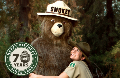 Celebrate Smokey Bear's 70th Birthday with a Twitter Party!