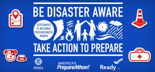 Be Prepared for National Preparedness Month