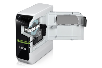 inside look at the Epson labeler