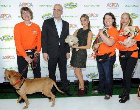 Sarah Hyland and ASPCA