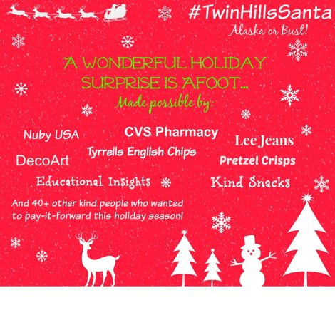 Paying It Forward For the Holidays #TwinHillsSanta