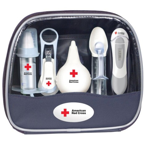 red cross grooming kit