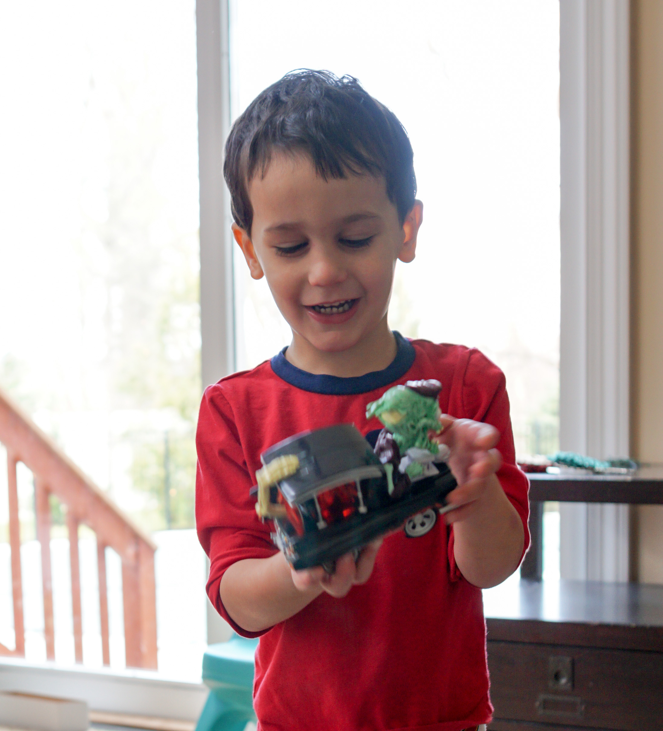 Thomas with Monster 500 truck