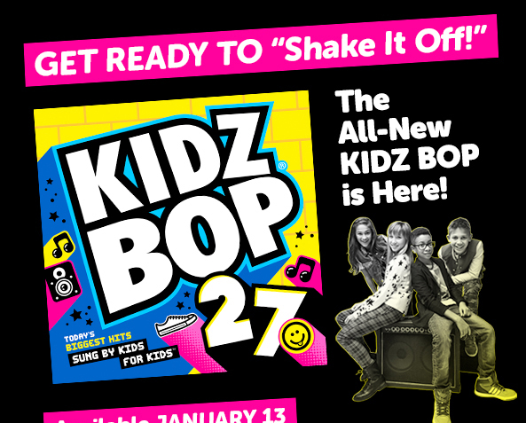 Kidz Bop 27 Makes Car Rides Entertaining and Fun!