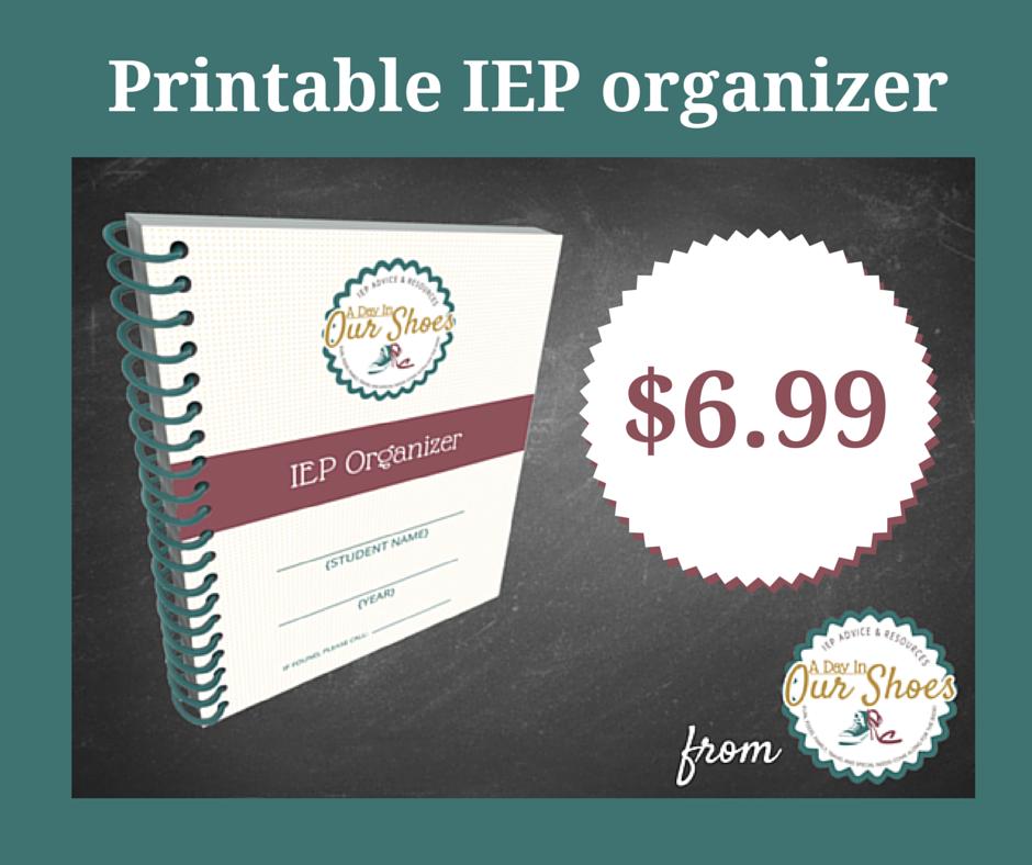 IEP Organizer