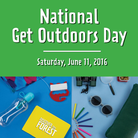 National Get Outdoors Day