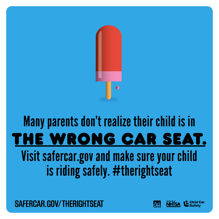 Is Your Child Really In #TheRightSeat?