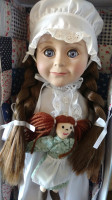 Laura Ingalls Wilder 18″ Doll Review + Giveaway!