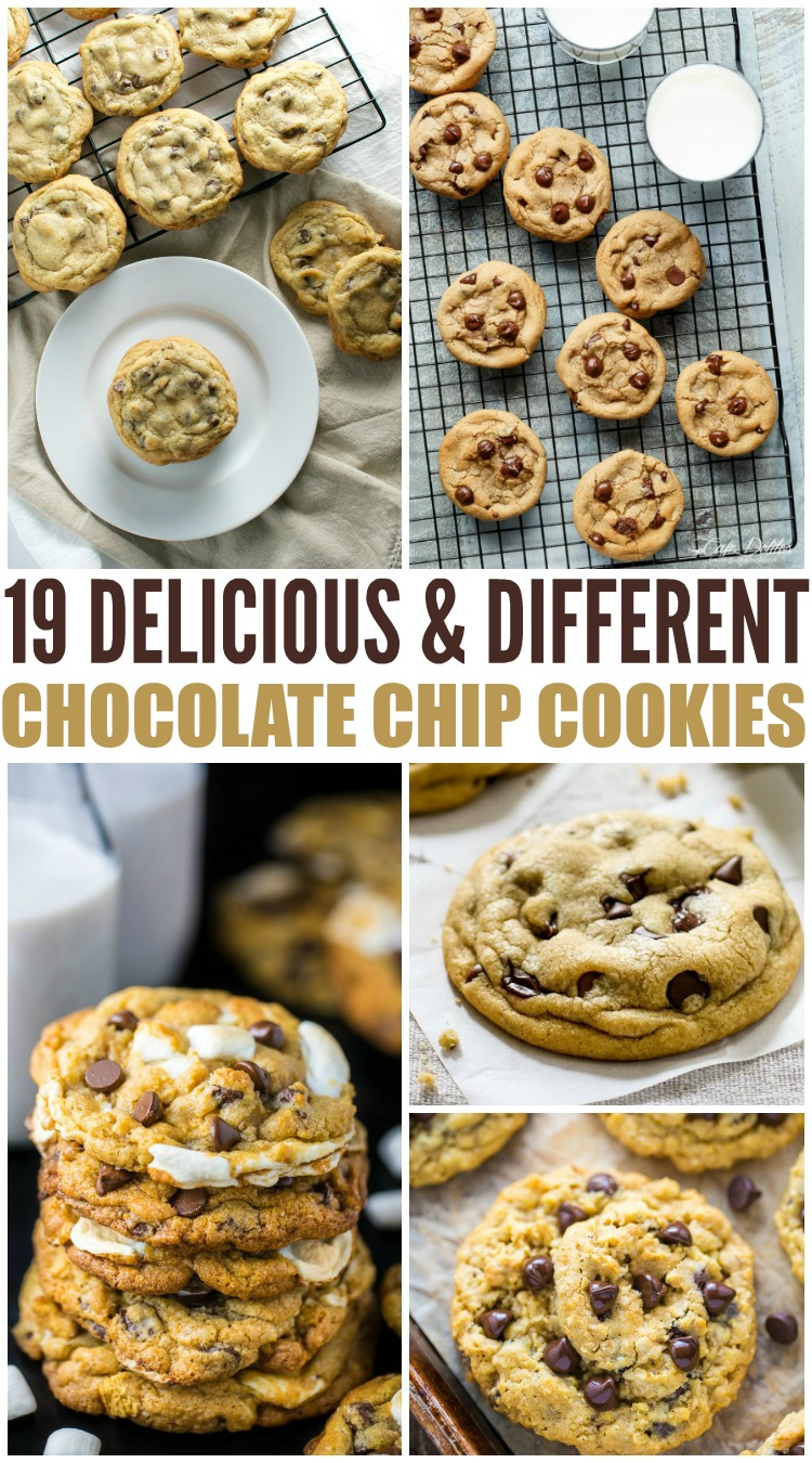 19 Delicious & Different Chocolate Chip Cookies