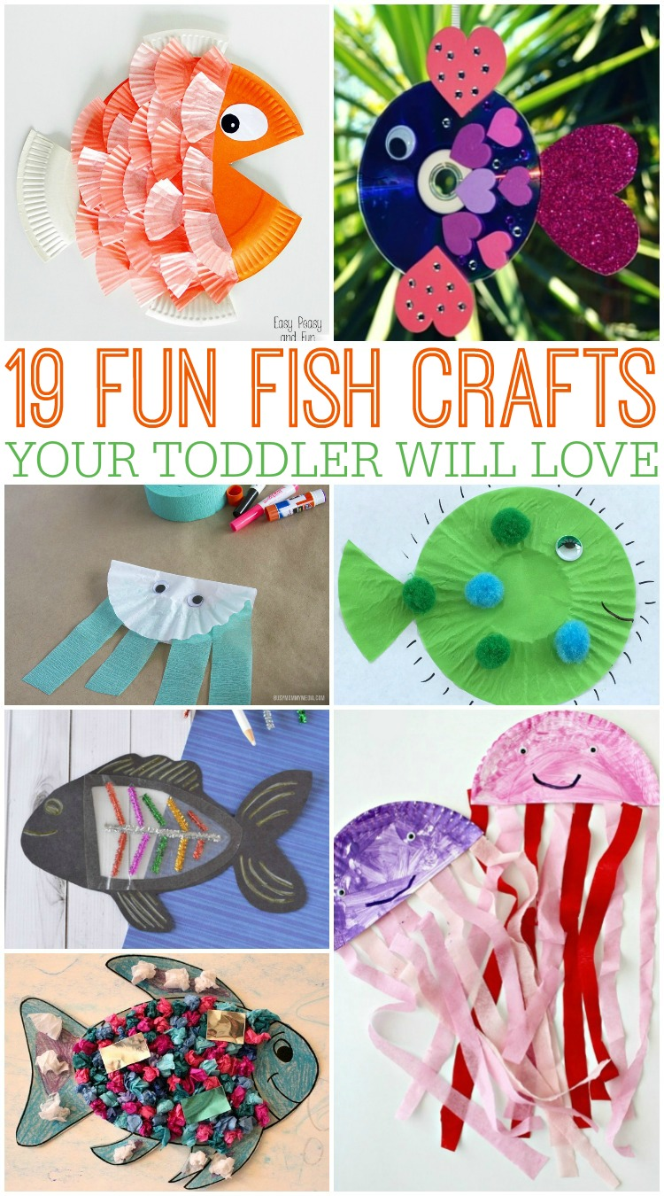 19 Fun Fish Crafts Your Toddler Will Love