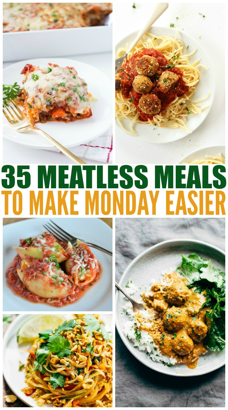 35 Meatless Meals To Make Monday Easier