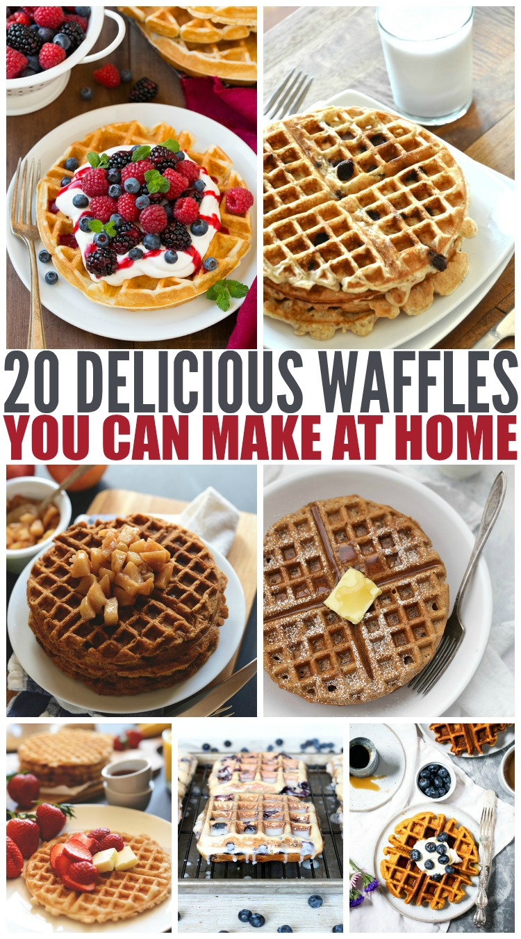 20 Delicious Waffles You Can Make At Home