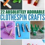 22 Absolutely Adorable Clothespin Crafts