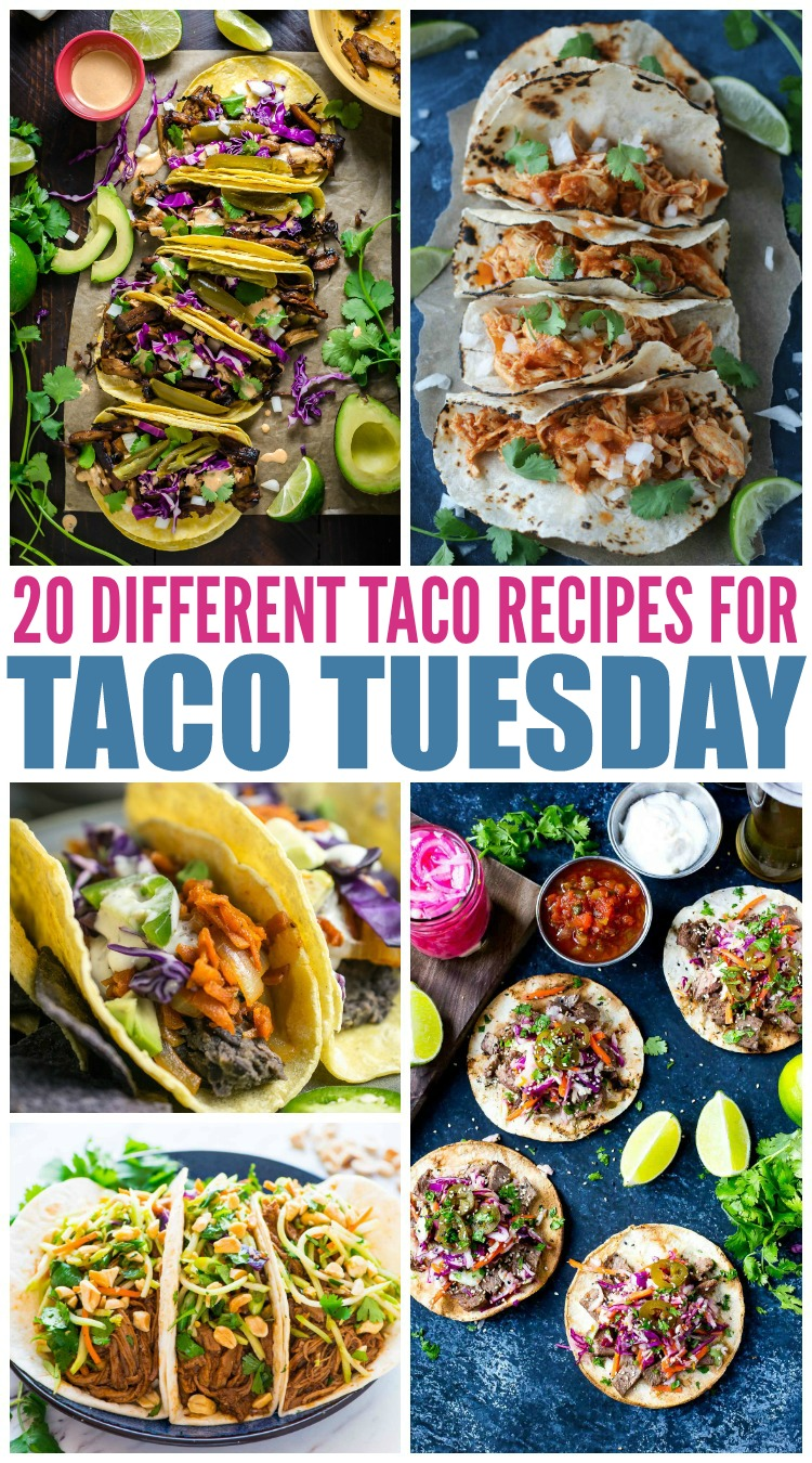 20 Different Taco Recipes For Taco Tuesday Mamanista