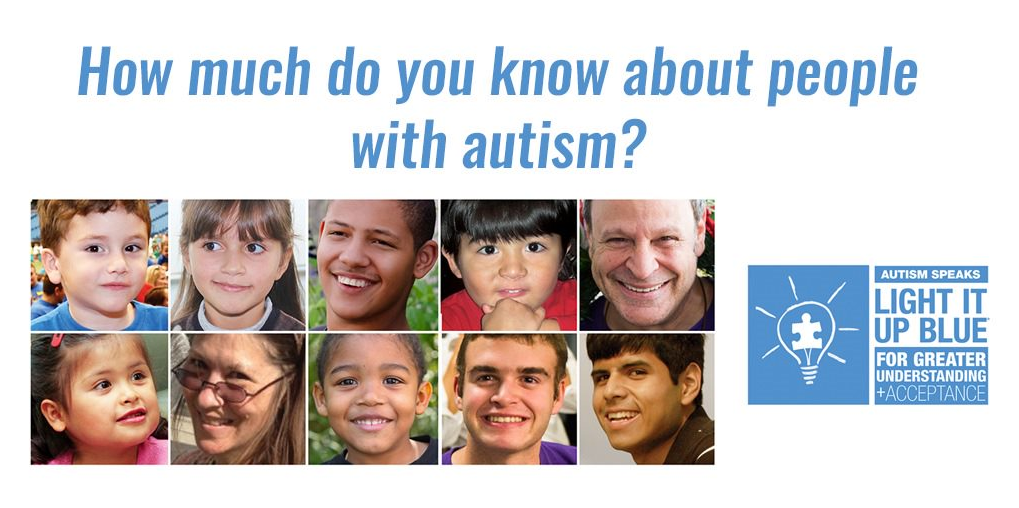 #LightItUpBlue To Spread Autism Awareness & Education