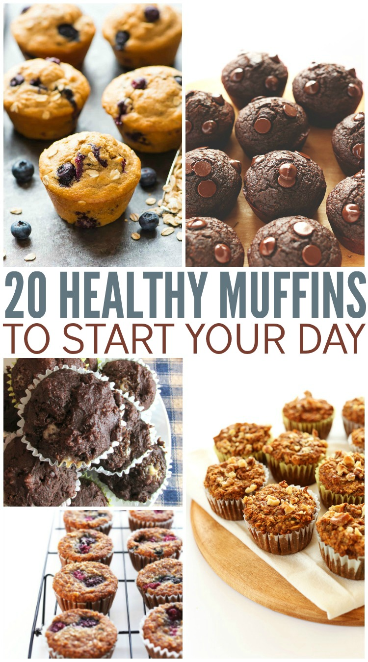 20 Healthy Muffins To Start Your Day