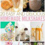 20 Easy & Delicious Homemade Milkshakes