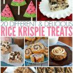 20 Different & Delicious Rice Krispie Treats