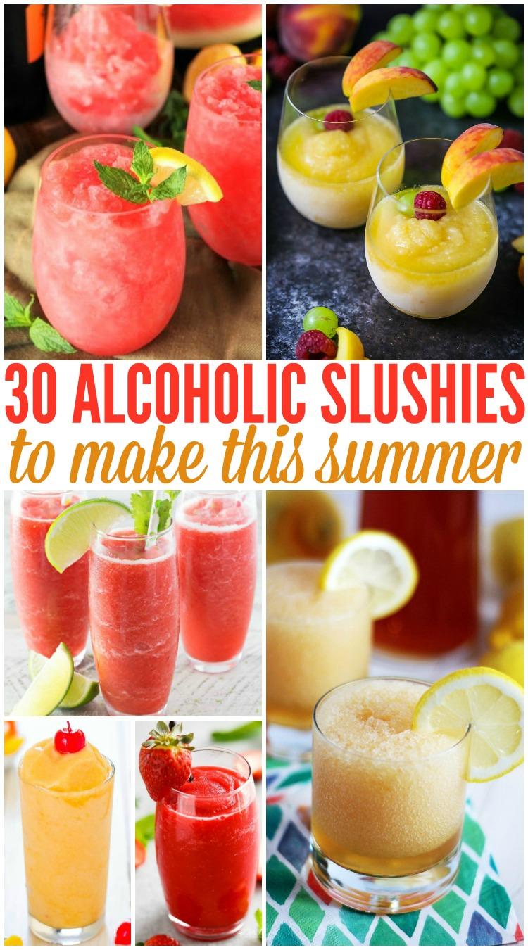 30 Alcoholic Slushies To Make This Summer