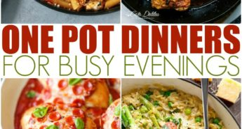 One Pot Dinners For Busy Evenings