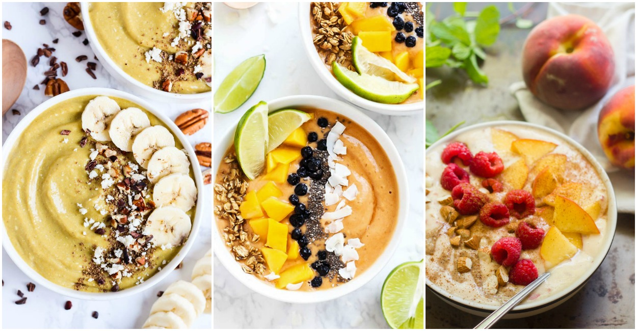 20 Smoothie Bowls For Busy Mornings