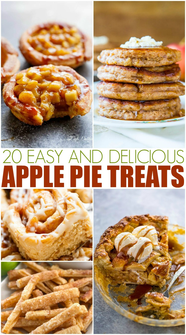 20 Easy & Delicious Apple Pie Treats