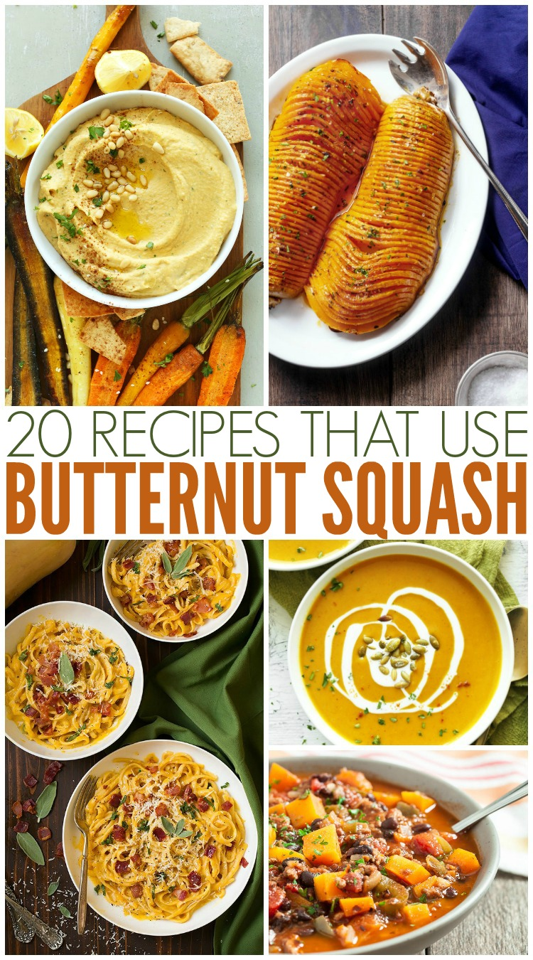 20 Recipes That Use Butternut Squash