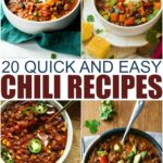 20 Quick And Easy Chili Recipes