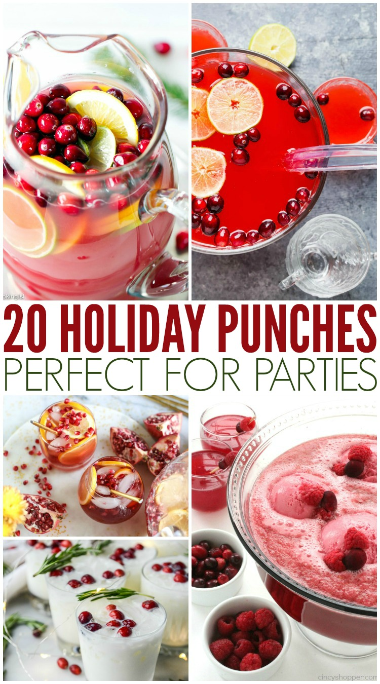 20 Holiday Punches Perfect For Parties