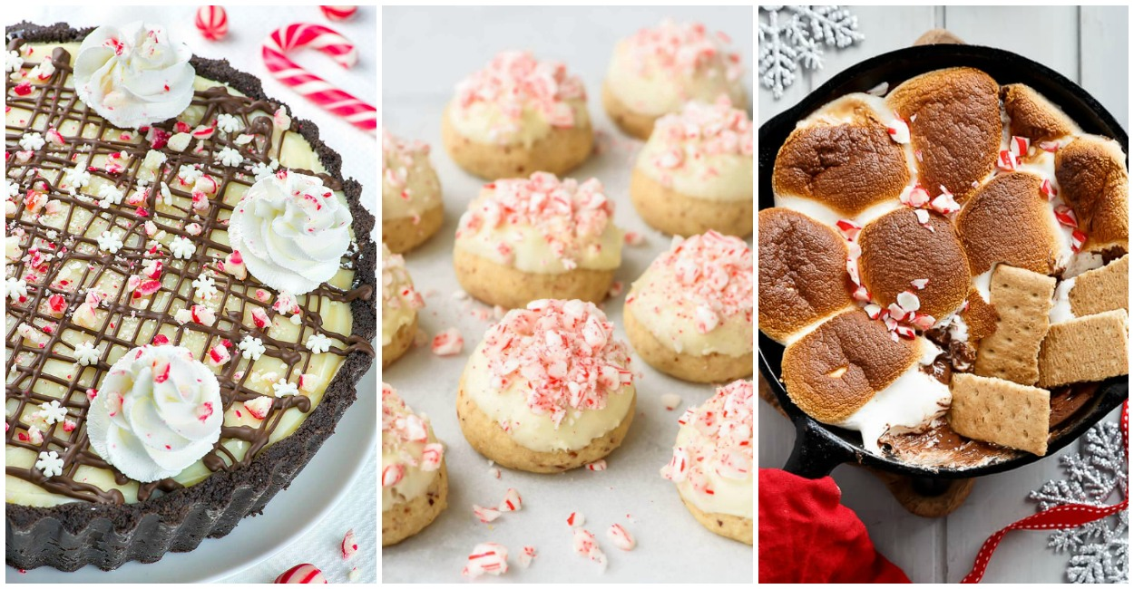 Candy Cane Treats Perfect For Christmas
