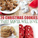 20 Christmas Cookies Santa Will Love