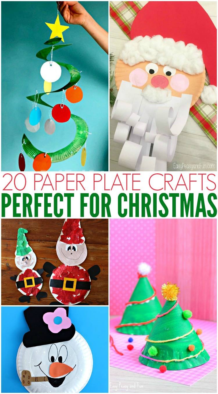 to get the kids even more excited we are doing christmas crafts this week yes i know its early but paper plate crafts are so much fun to do with little