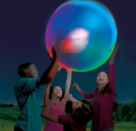 NEW Glow in the Dark Fun With Super Wubble Brite!