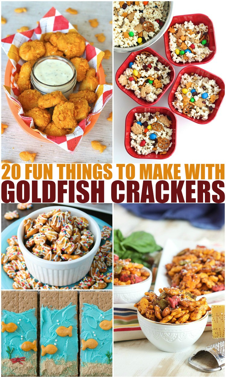 20 Fun Things To Make With Goldfish Crackers