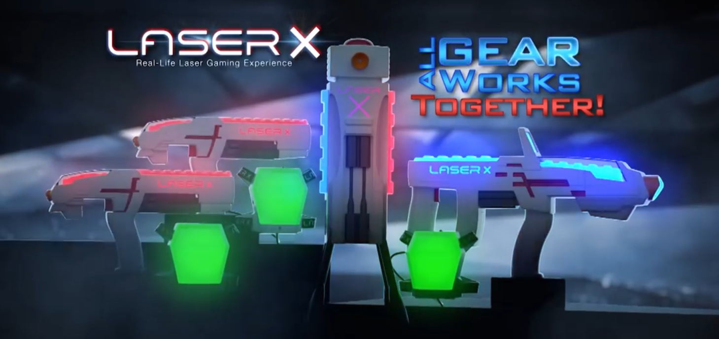 Laser X Laser Tag Game is a Hit This Season!