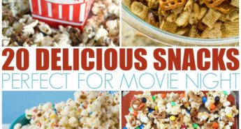 20 Delicious Snacks Perfect For Movie Night