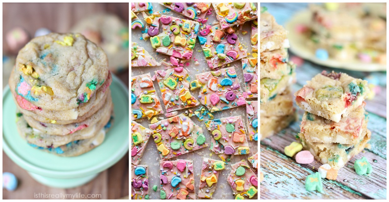 20 Easy And Delicious Lucky Charm Treats