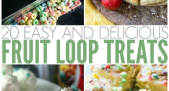 20 Easy And Delicious Fruit Loop Treats