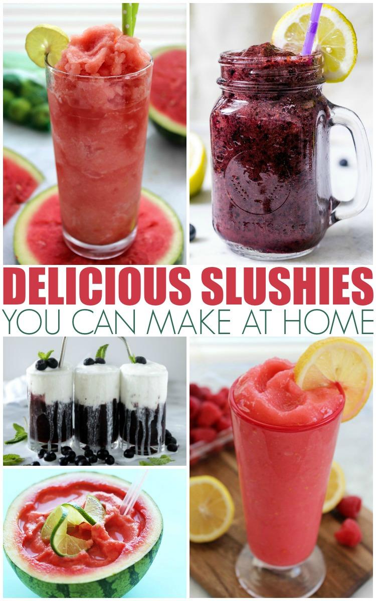 how to make slushies at home