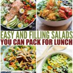 Easy And Filling Salads You Can Pack For Lunch