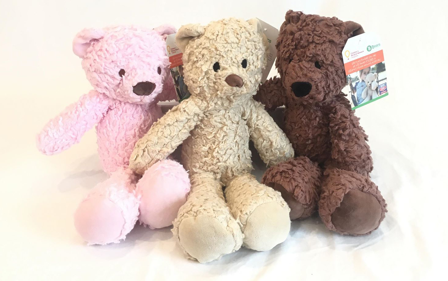 Cuddly Bears For Humanity and Children's Miracle Network Hospitals